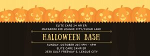 2019 Halloween Bash at Elite Care ER in League City